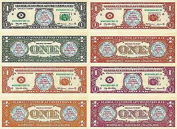 verschiedene Farben spielgelddollar dollarscheine spielgeld geldscheine