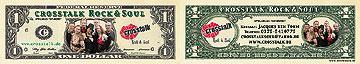 personalisierte Visitenkarten-Dollars