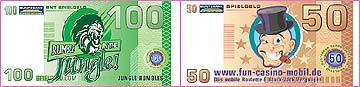 einladung visitenkarte geschenkgutschein geschenk-gutschein personalisiertes spielgeld las vegas night