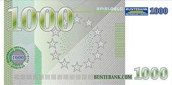 1000 00 euro schein